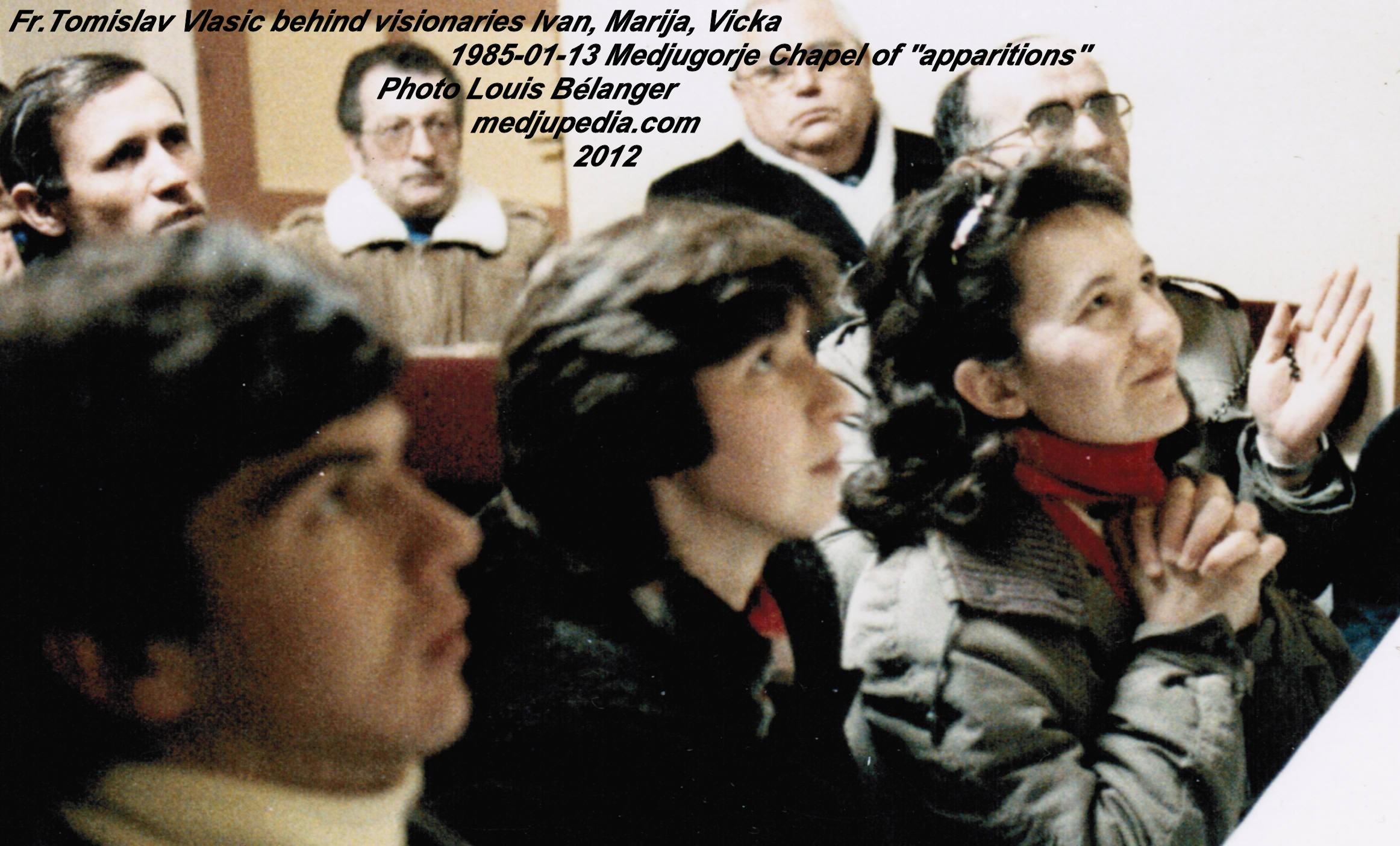 Fr. Tomislav Vlasic - Medjugorje - 1985-01-13