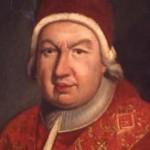 Pope Benedict XIV (Prospero Lambertini) 1740-1758